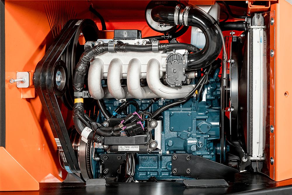 Timberwolf Holzhäcksler Motor