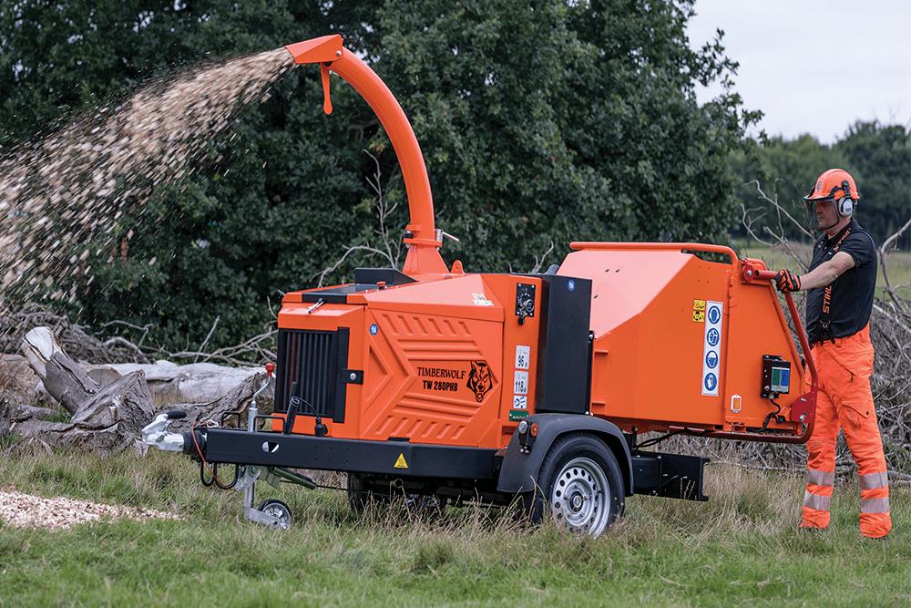 Timberwolf Häcksler TW280PHB