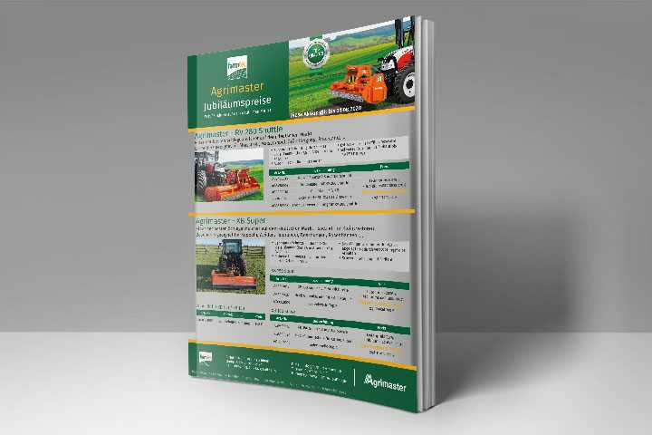 Agrimaster Aktionsflyer