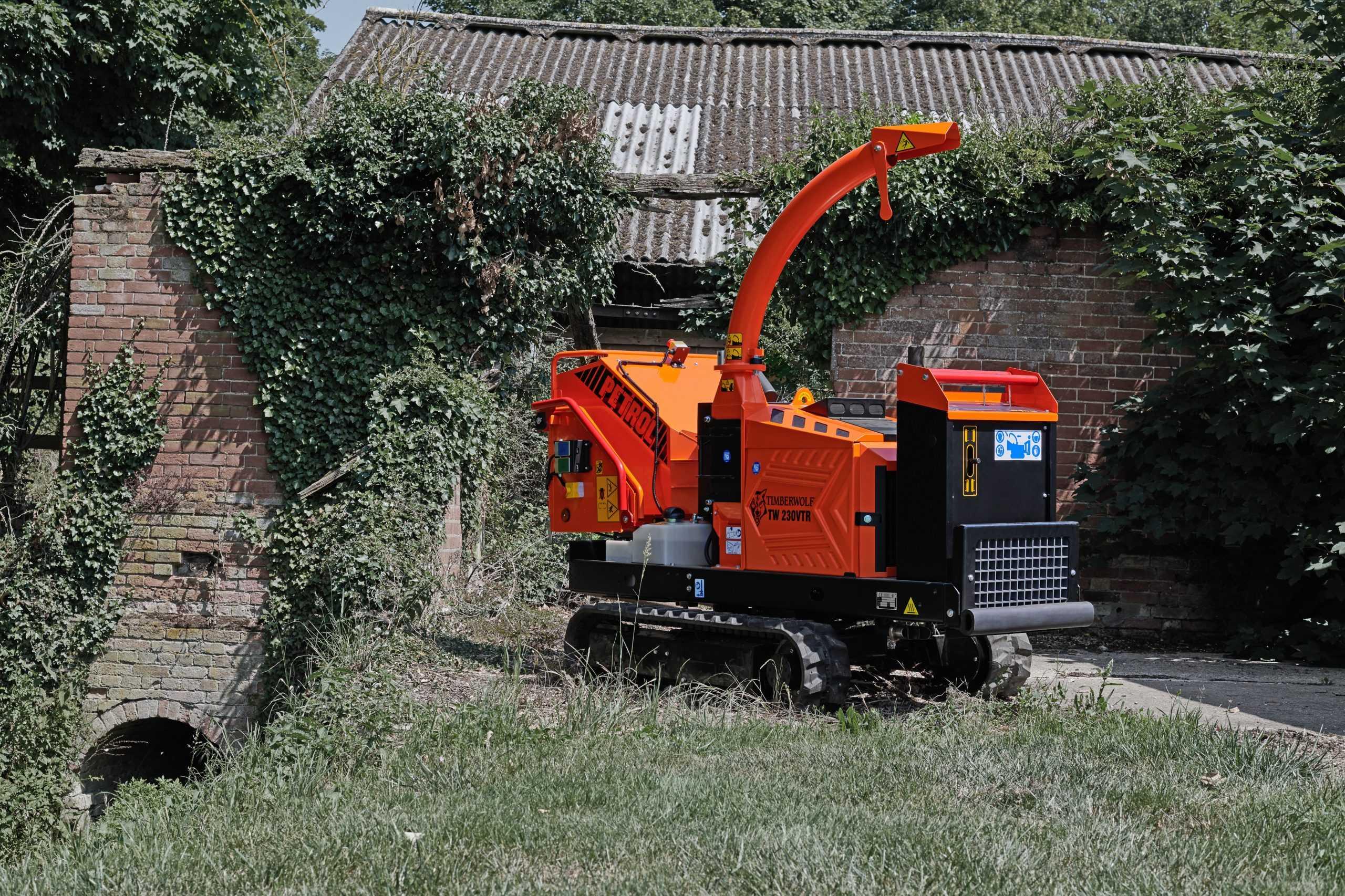 Timberwolf Raupenhäcksler TW 230VTR(p)