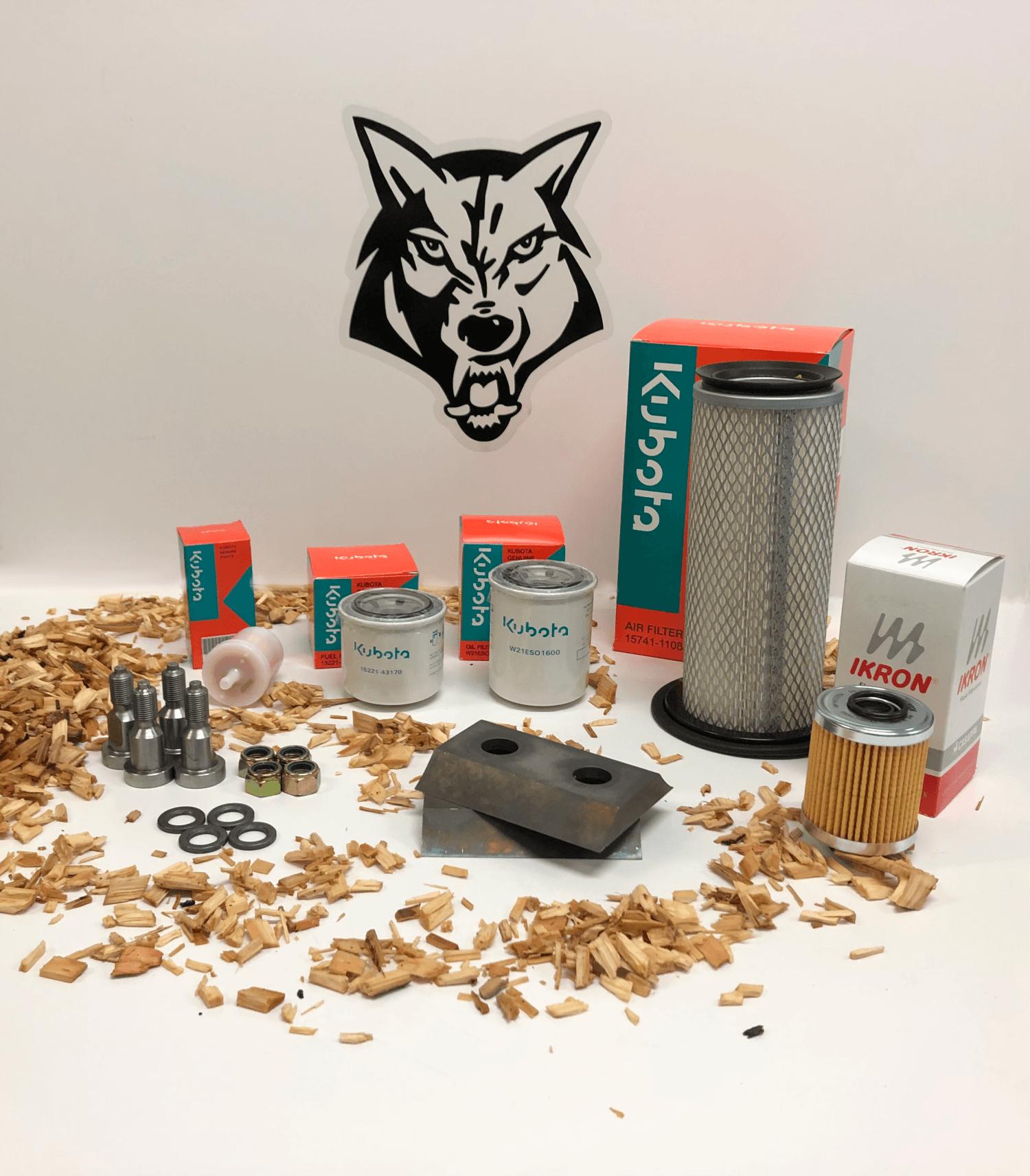 Timberwolf Kundendienstpakete